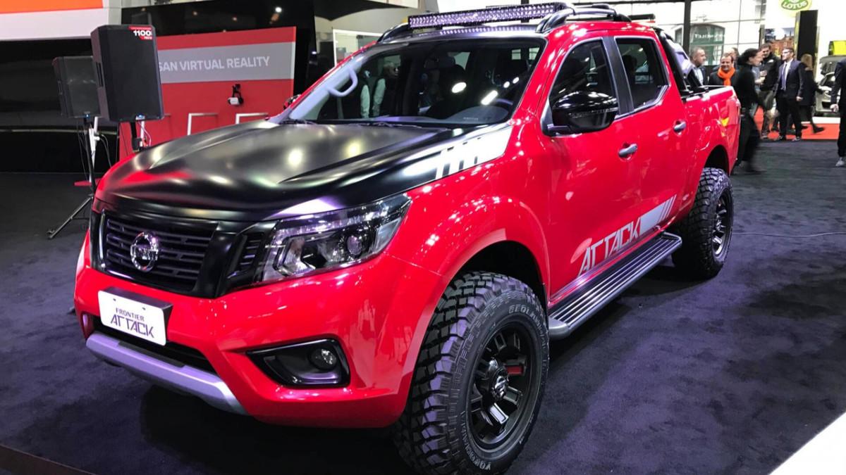 Nissan представил пикап для самого тяжелого бездорожья