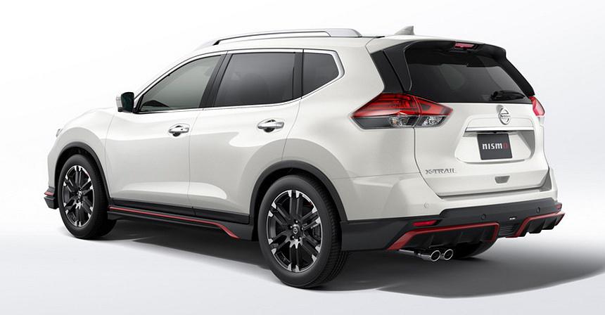Обновленный кроссовер Nissan X-Trail получил тюнинг от Nismo и Autech