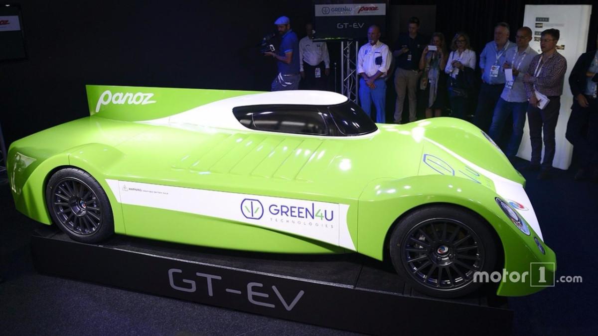 Электромобиль Panoz примет участие в знаменитой гонке 24 часа Ле-Мана