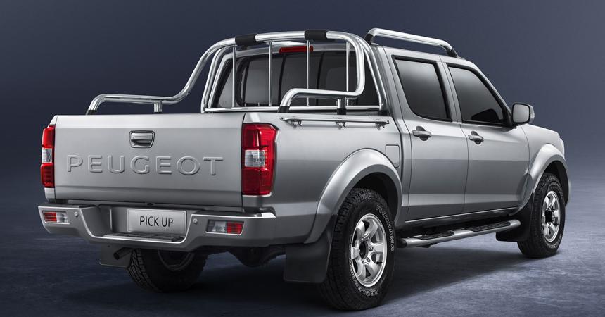 Peugeot (Пежо): Для африканского рынка представлен новый пикап Pick Up