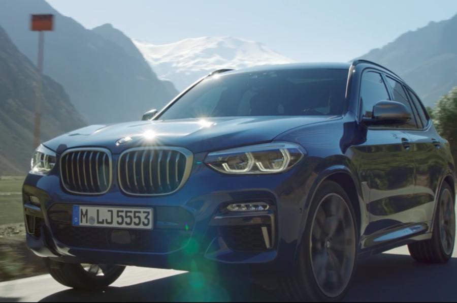 BMW X3 2018: первые фото нового кроссовера БМВ