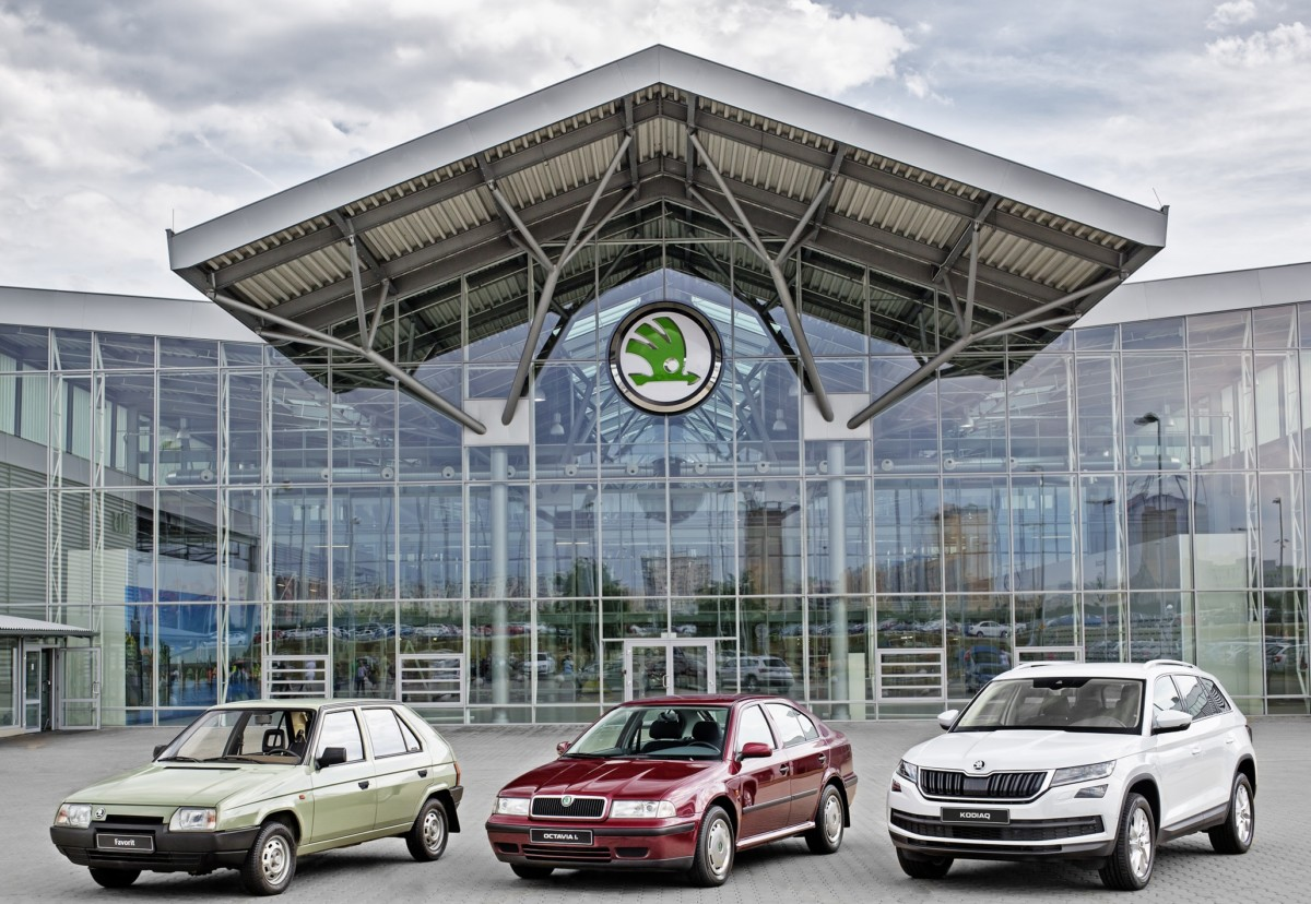Skoda выпустила 15-миллионный авто в составе концерна Volkswagen