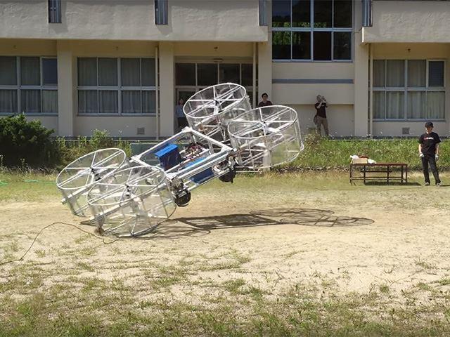 Летающий автомобиль Toyota рухнул во время первого показа