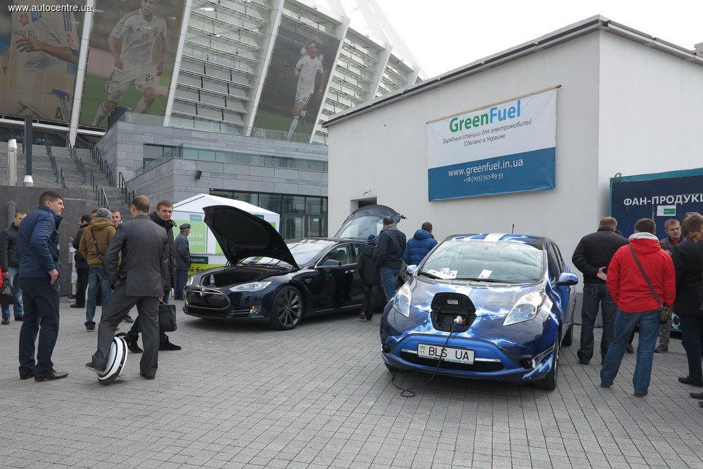 В Украине всплеск продаж электромобилей