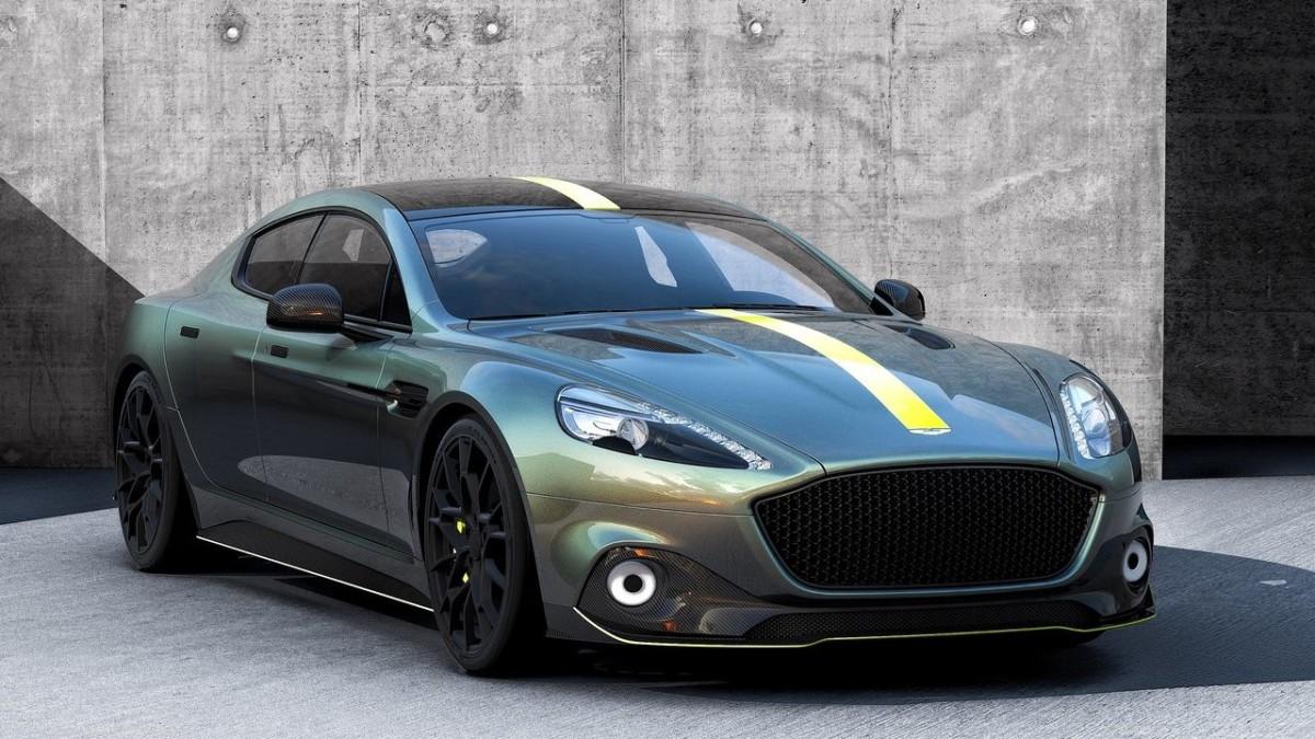 Электромобиль Aston Martin: первые изображения и цена