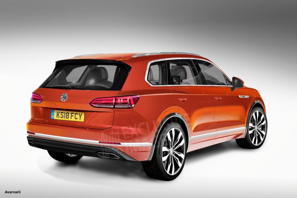 Volkswagen Touareg 2018: первые изображения нового кроссовера Фольксваген