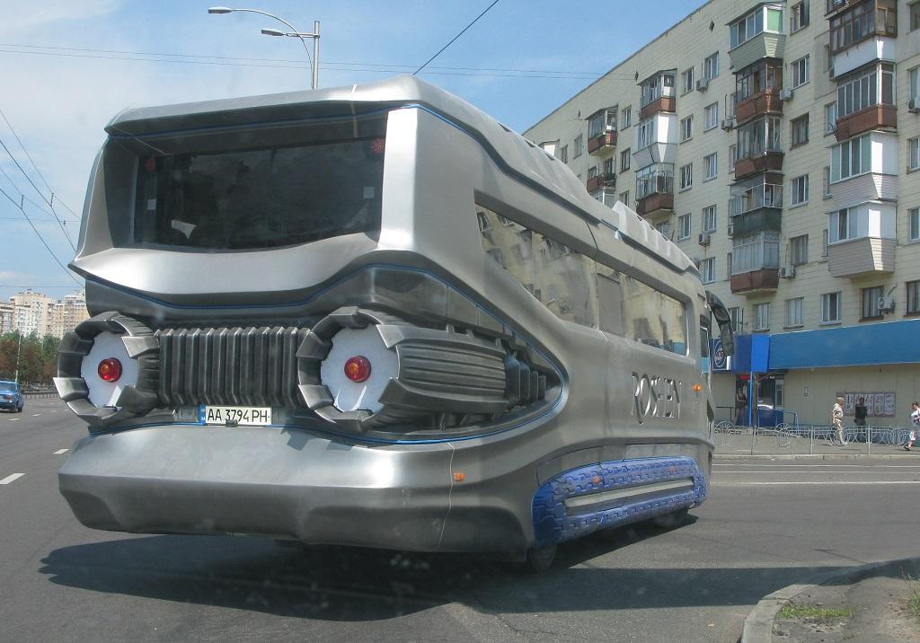 Новый украинский автобус