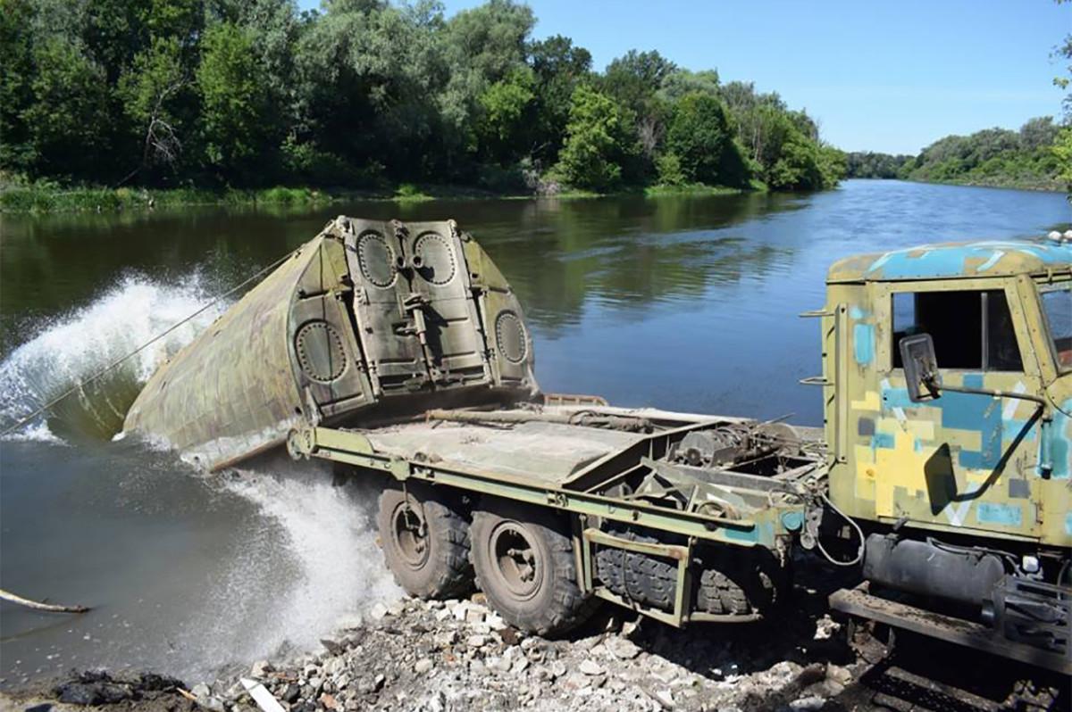 КрАЗ-255Б1 в инженерных частях ВСУ