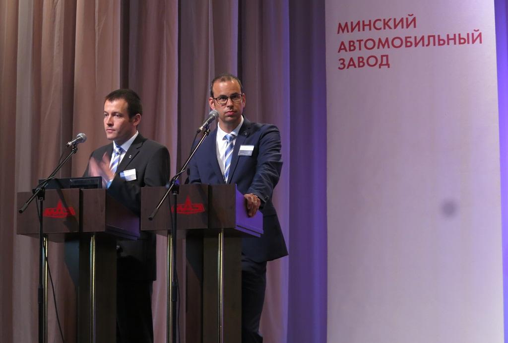 Доктор Андреас Шарфф, директор планирование продаж и продуктов Mercedes-Benz Truck Powertrain