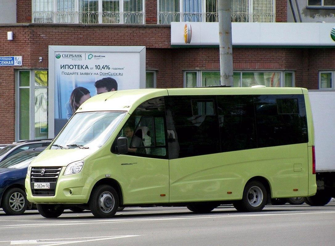 Новые маршрутки ГАЗ с каркасно-панельным кузовом проходят испытания на улицах Нижнего Новгорода