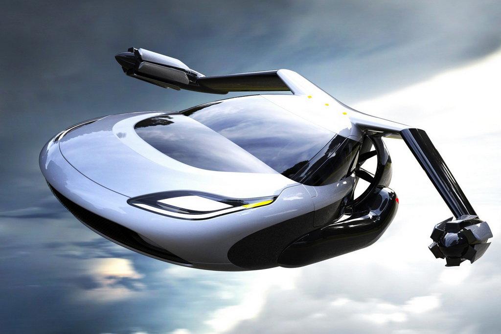 Летающий автомобиль Terrafugia