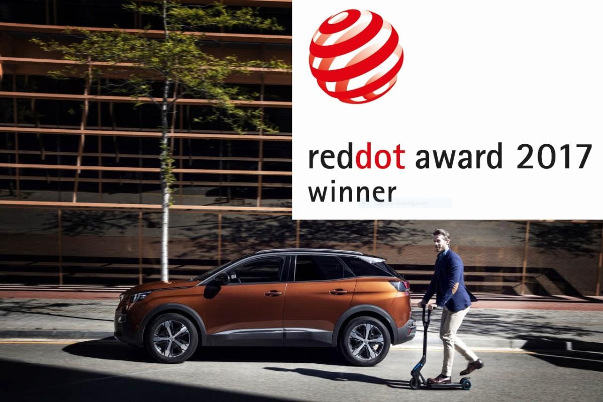 Peugeot получил две авторитетные награды Red Dot Design Award