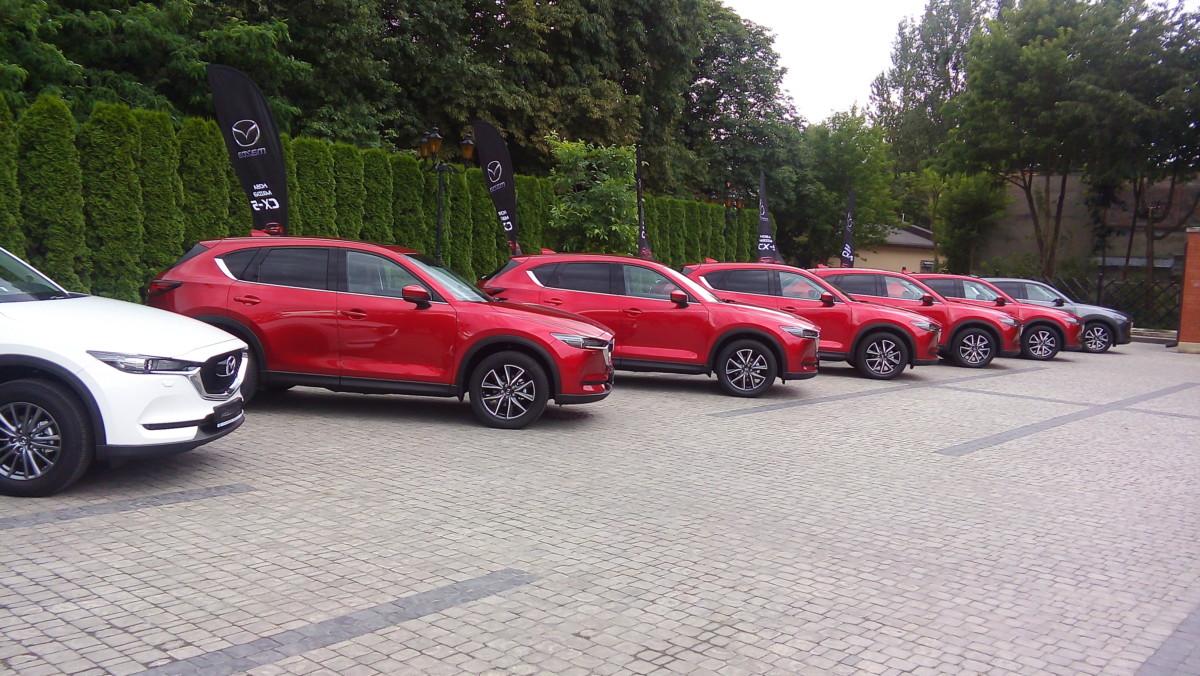 «Автоцентр» проводит тест новой Mazda CX-5 в Карпатах