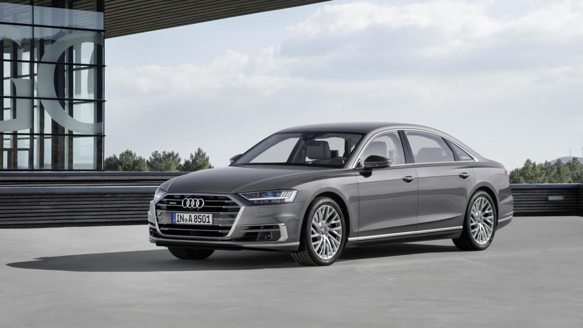 Новая Audi A8 2018 официальные фото и видео Автоцентр Ua