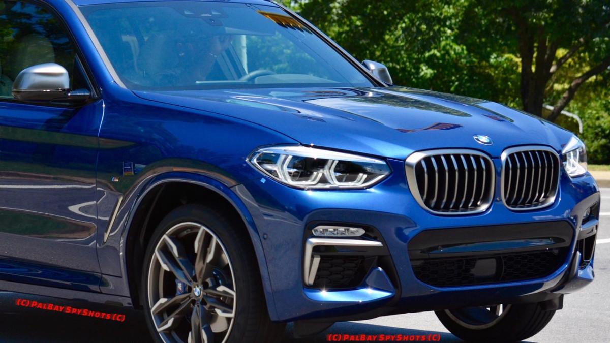 Новый BMW X3 2018 впервые засняли вживую