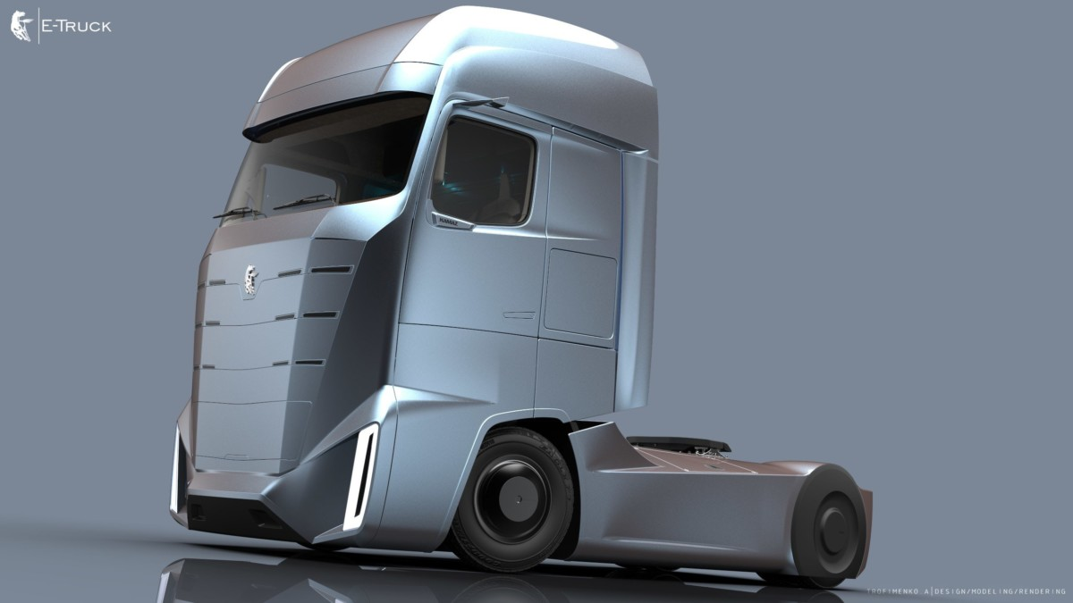 Проект КАМАZ E-Truck
