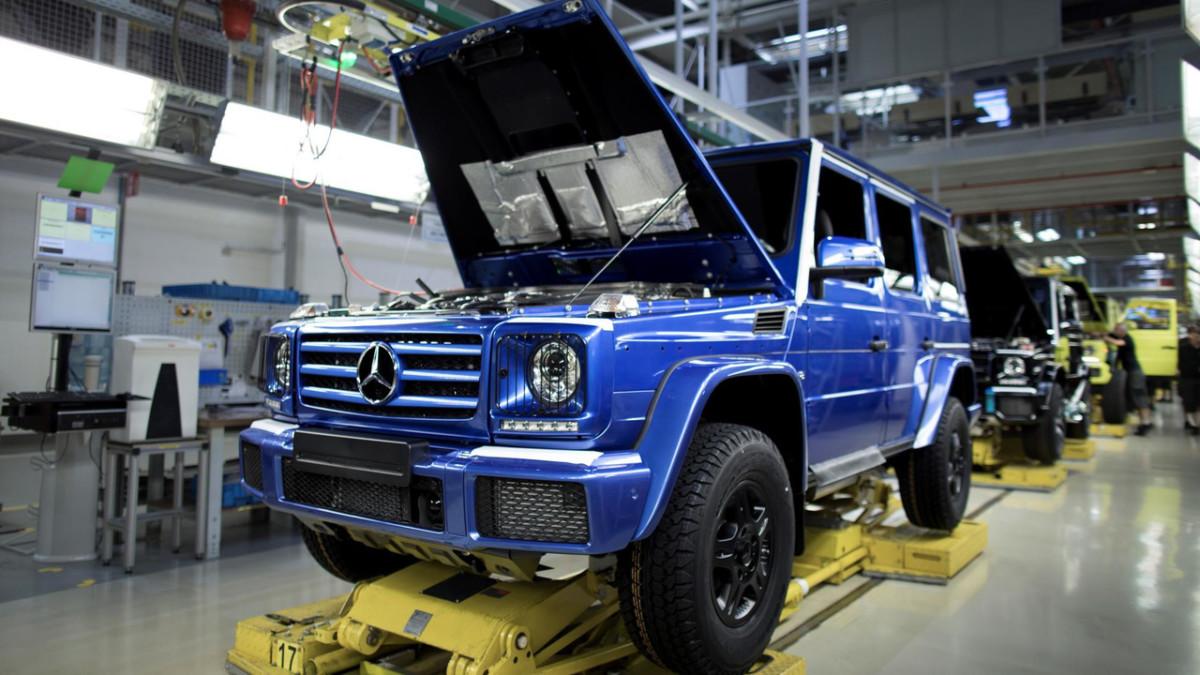 Mercedes выпустил 300-тысячный Гелендваген