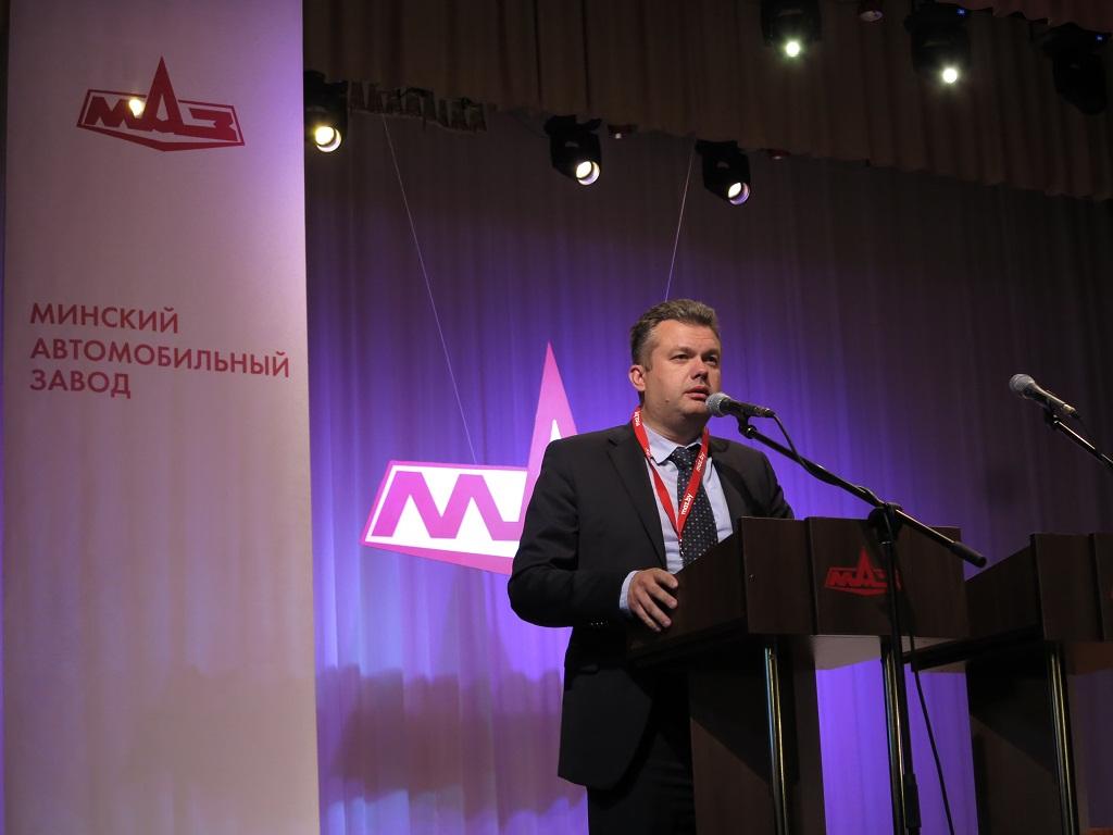 Павел Шабанов, главный конструктор по автомобильной технике ОАО «МАЗ»