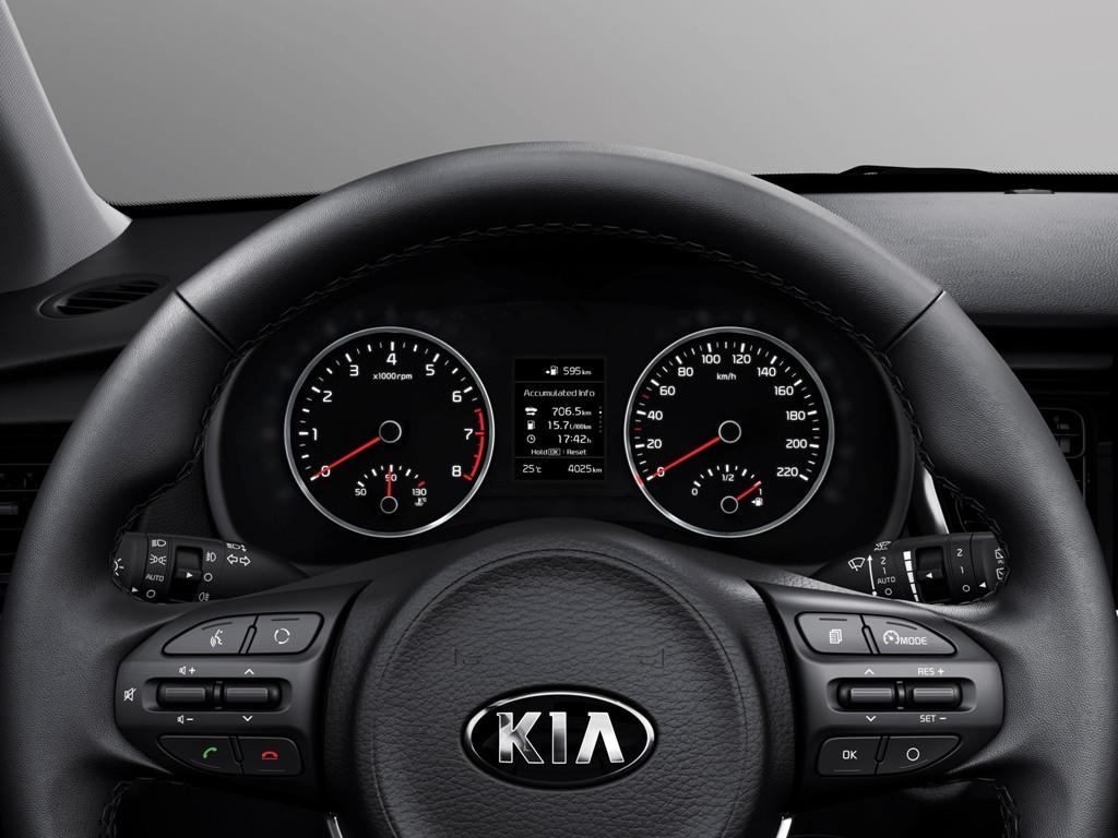 Kia Rio четвертого поколения