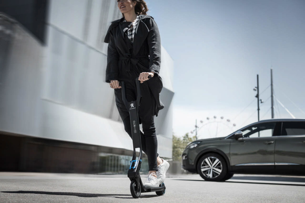 электрический скутер e-Kick