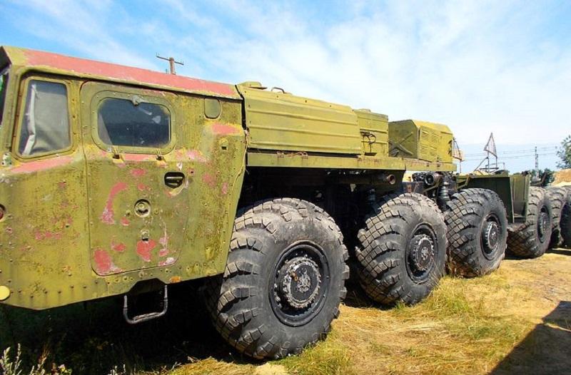 Ракетовоз МАЗ-547