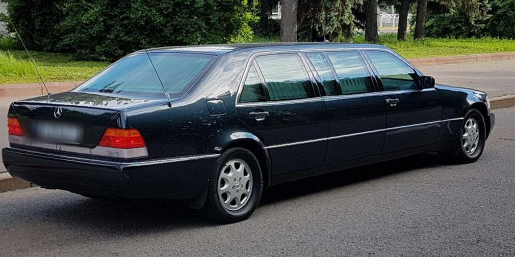 Mercedes Ельцина продают за полмиллиона евро