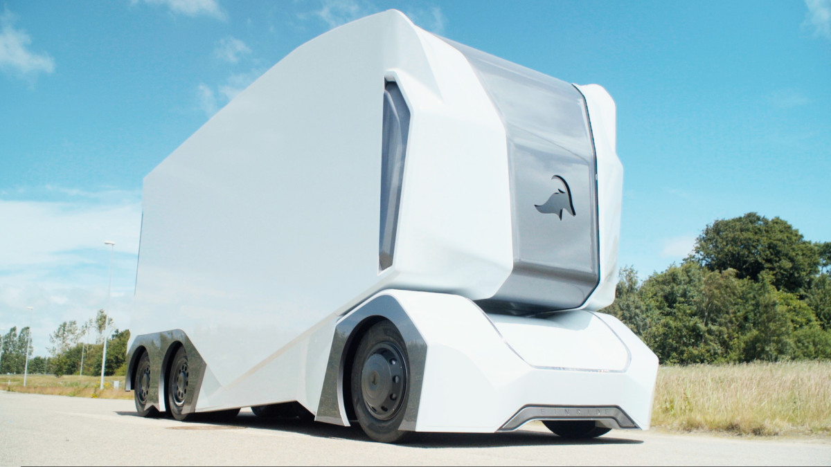 Беспилотные грузовики T-pod