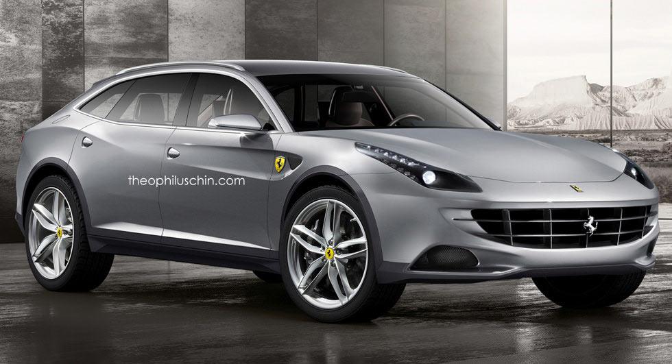 Первый кроссовер Ferrari появится в 2021 году