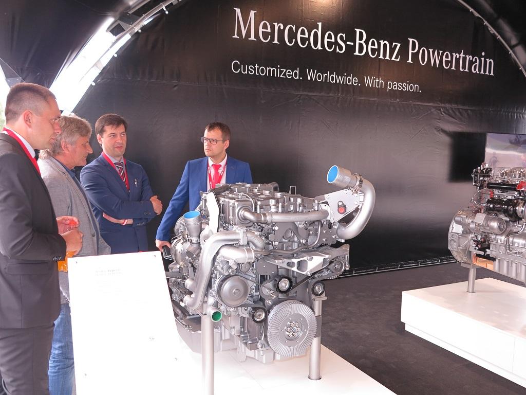 Газовый мотор OM 936 LAG стандарта Евро 6 может устанавливаться на МАЗ-203