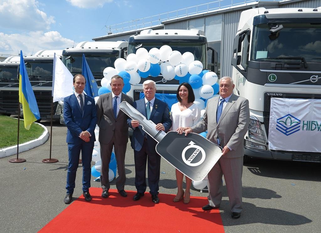 «НИБУЛОН» выбирает грузовики Volvo FH