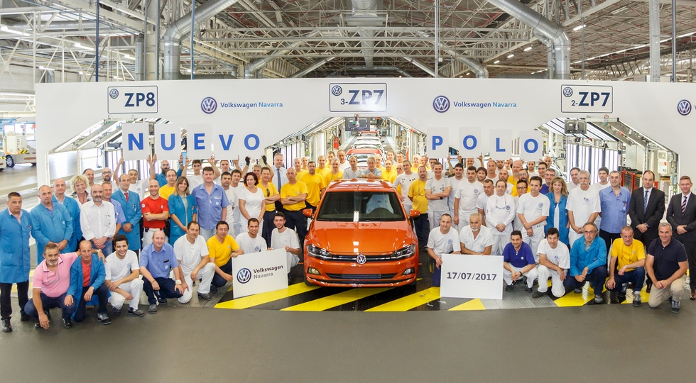 Стартовало производство нового Volkswagen Polo 2018