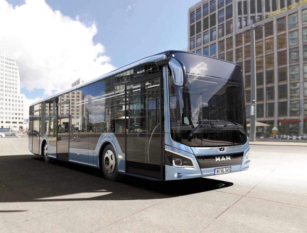 Городской автобус MAN Lion's City 2018