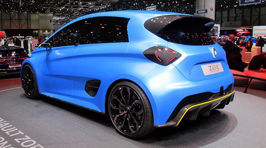 Новый заряженный хэтчбек Renault будет электрическим