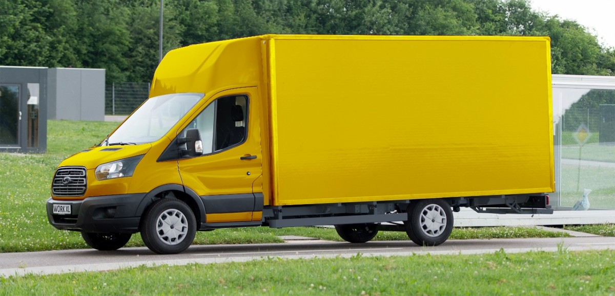 Ford и Deutsche Post выпустят 2500 электромобилей на базе Ford Transit