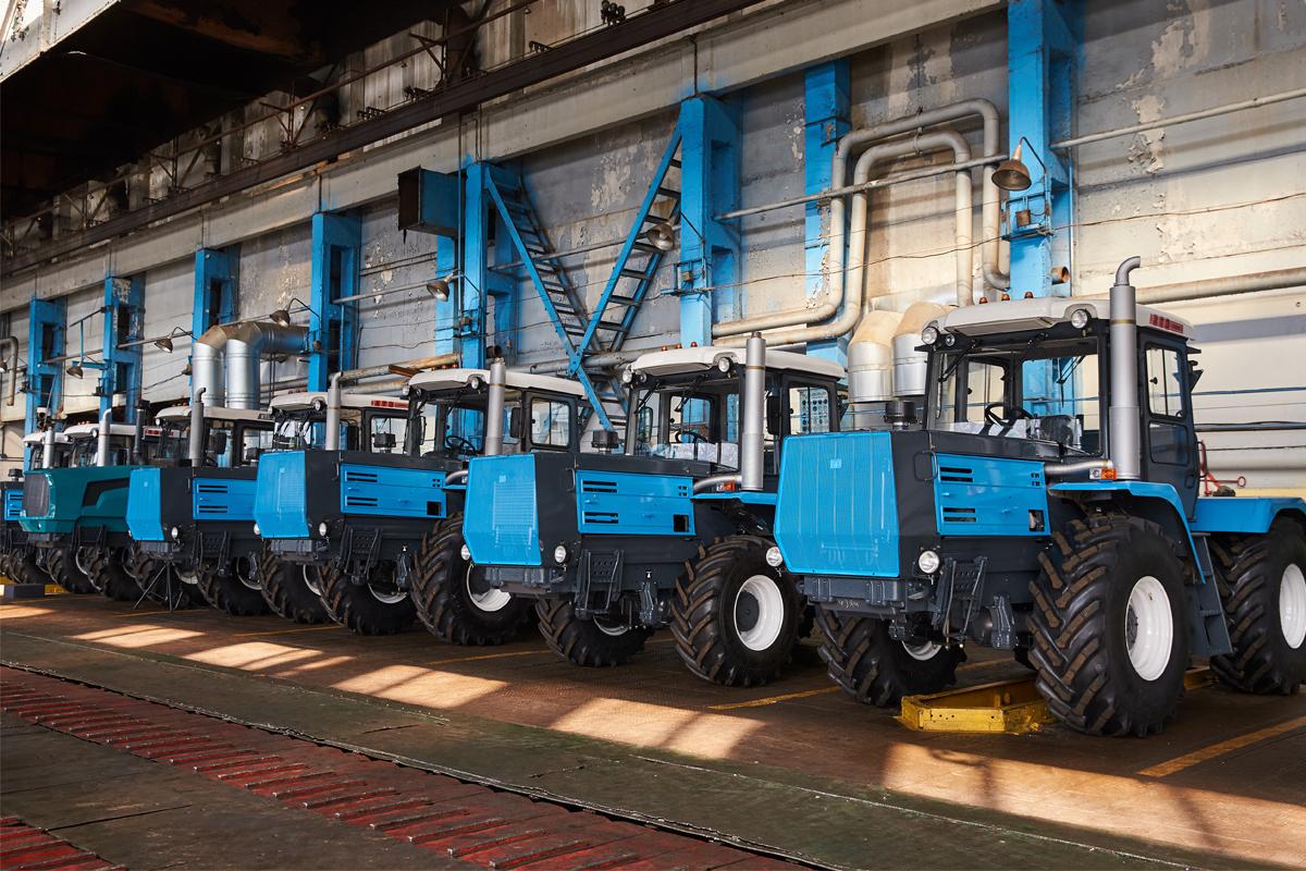 Харьковский тракторный завод: итоги производства за полгода