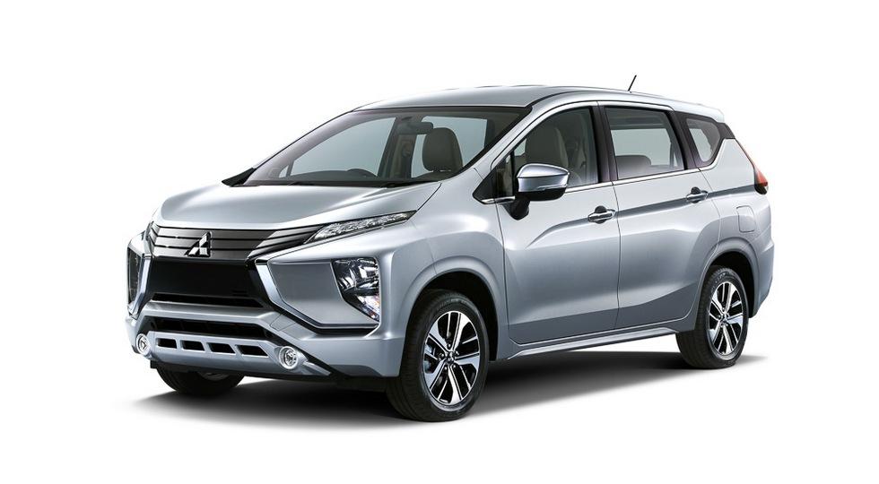 Mitsubishi Expander 2018: официальные фото внедорожного минивэна
