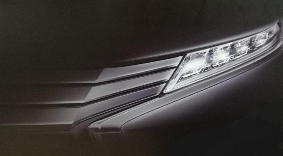Mitsubishi выпустит внедорожный мини-вэн