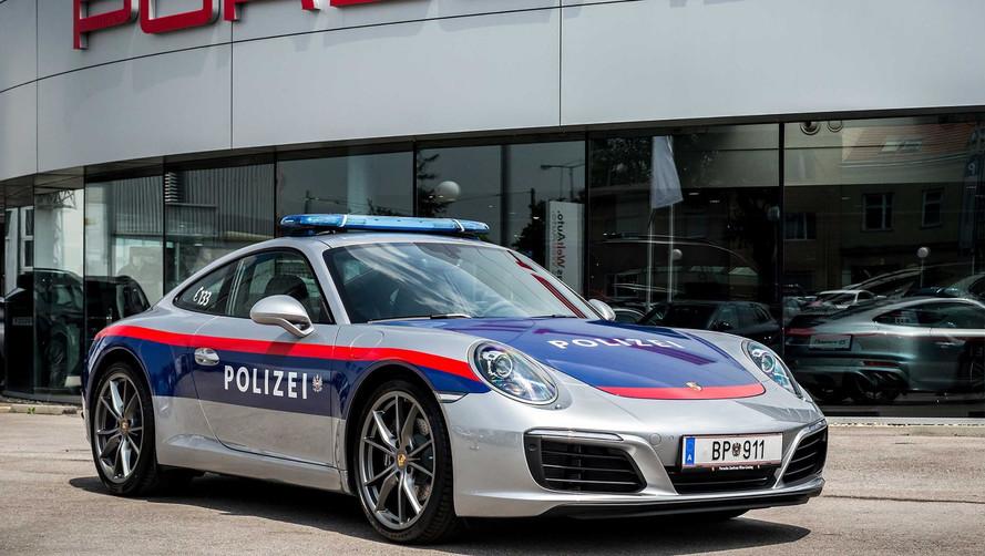 На полицейском Porsche будут преследовать ярых нарушителей