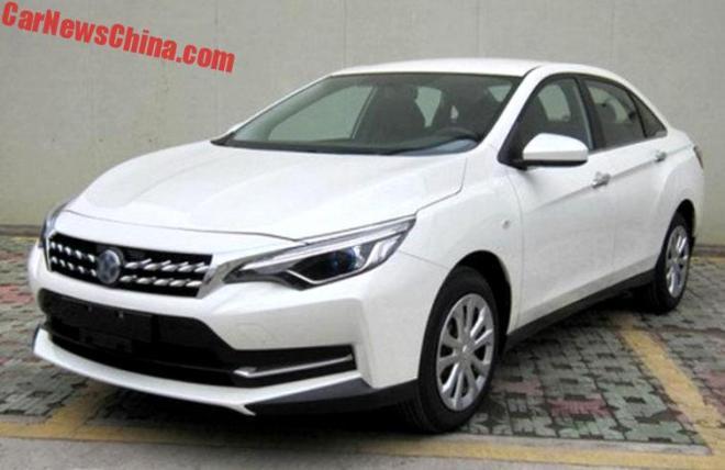 Venucia D60: новый китайский седан на базе Nissan Sentra