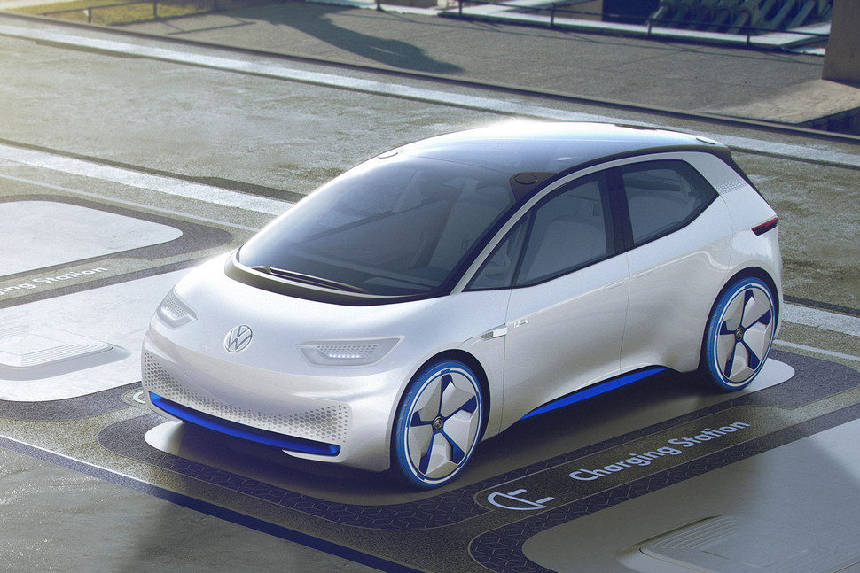 Новые подробности про серийные электромобили Volkswagen I.D