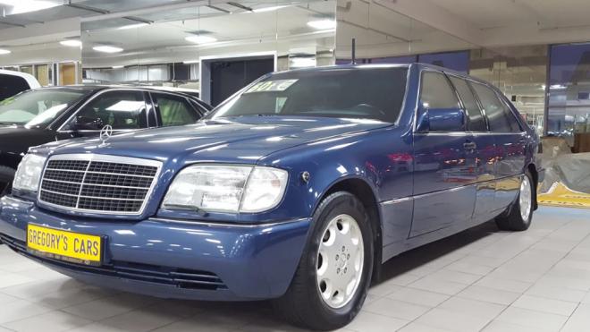 Mercedes Ельцина продали по цене нового спорткара