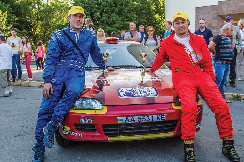 второй этап Чемпионата Украины по ралли