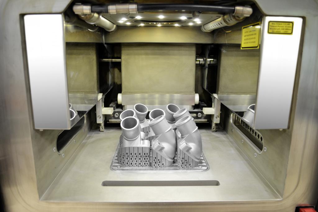 Mercedes-Benz запустил первый 3D принтер по металлу