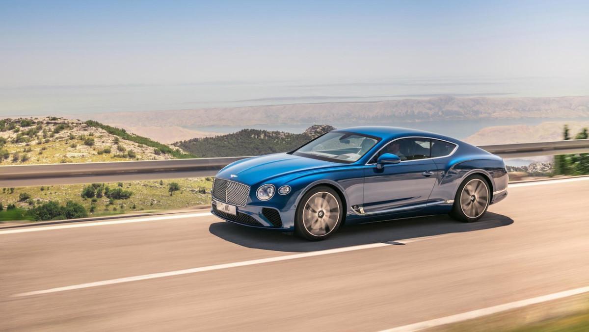 В Украине засветился новейший Bentley Continental GT 2018