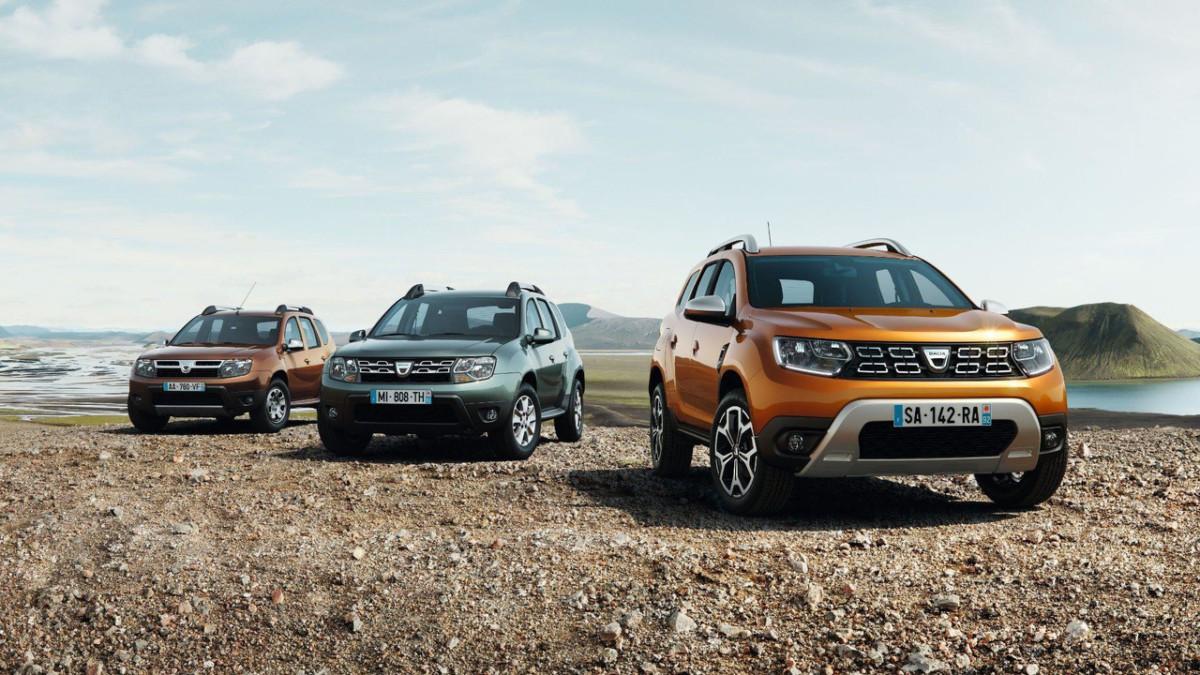 Renault Duster 2018 первые официальные изображения
