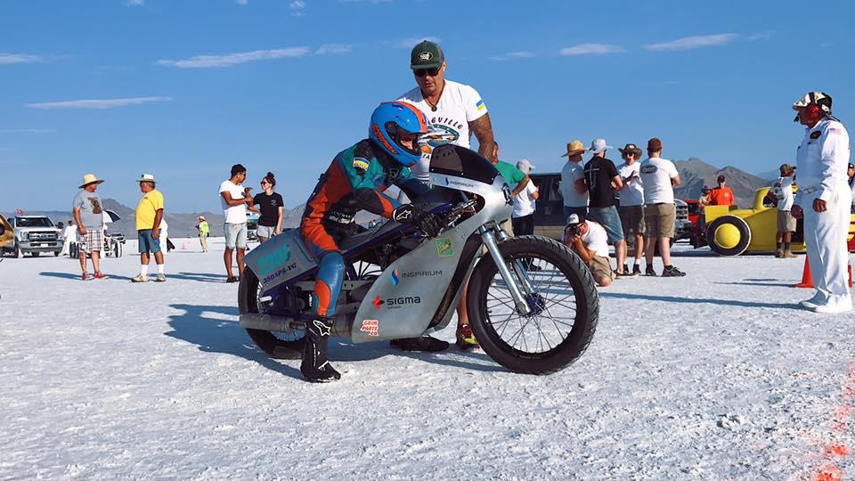 Украинцы впервые побили мировой рекорд скорости для мотоциклов