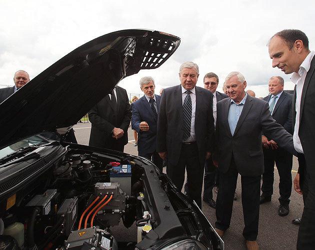 Первый белорусский электромобиль создали на базе Geely