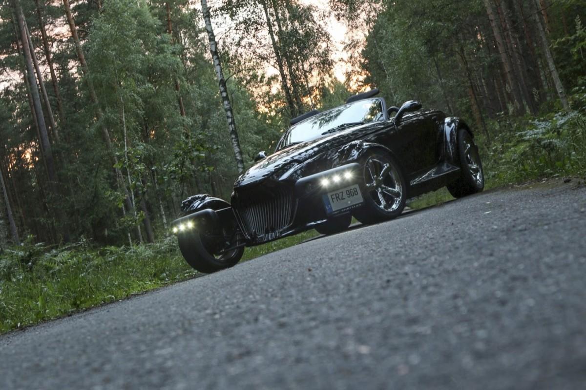 В Украине создали авто в стиле Чужого