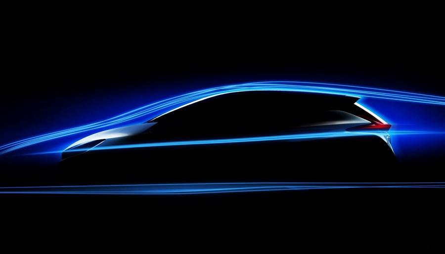 Nissan Leaf 2018: первые официальные изображения