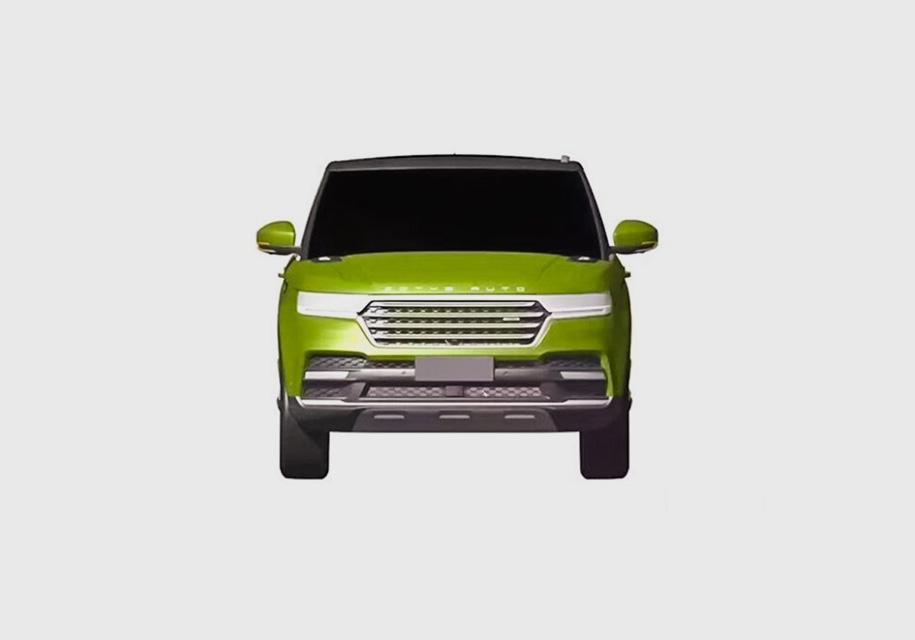 ВCети появились изображения китайской копии Range Rover Sport